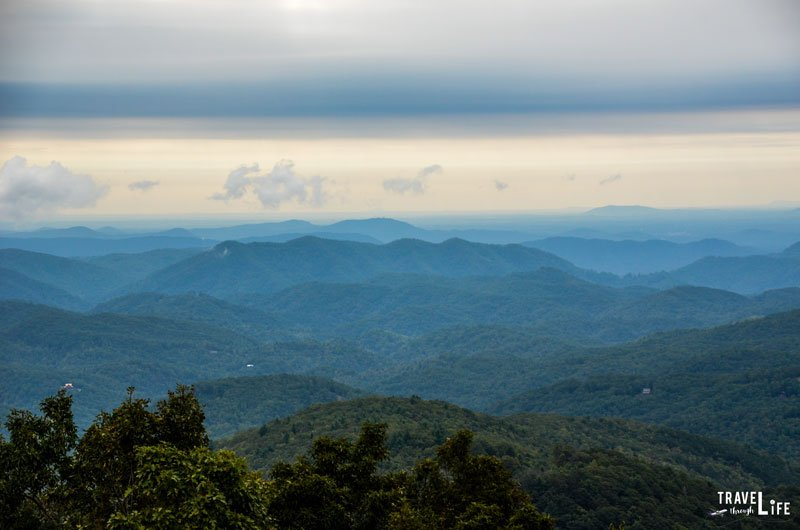 Blue Ridge Parkway near Blowing Rock North Carolina