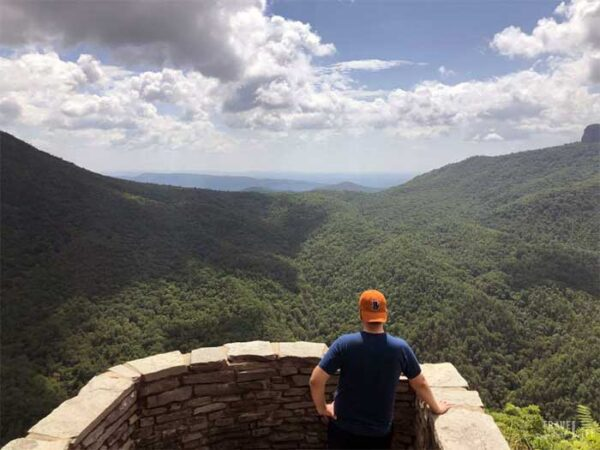 Hiking in North Carolina Wisemans View Linville NC Image
