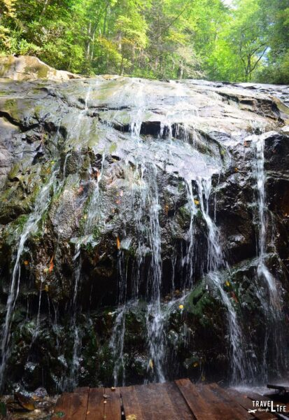 North Carolina Blowing Rock Glen Burney Trail