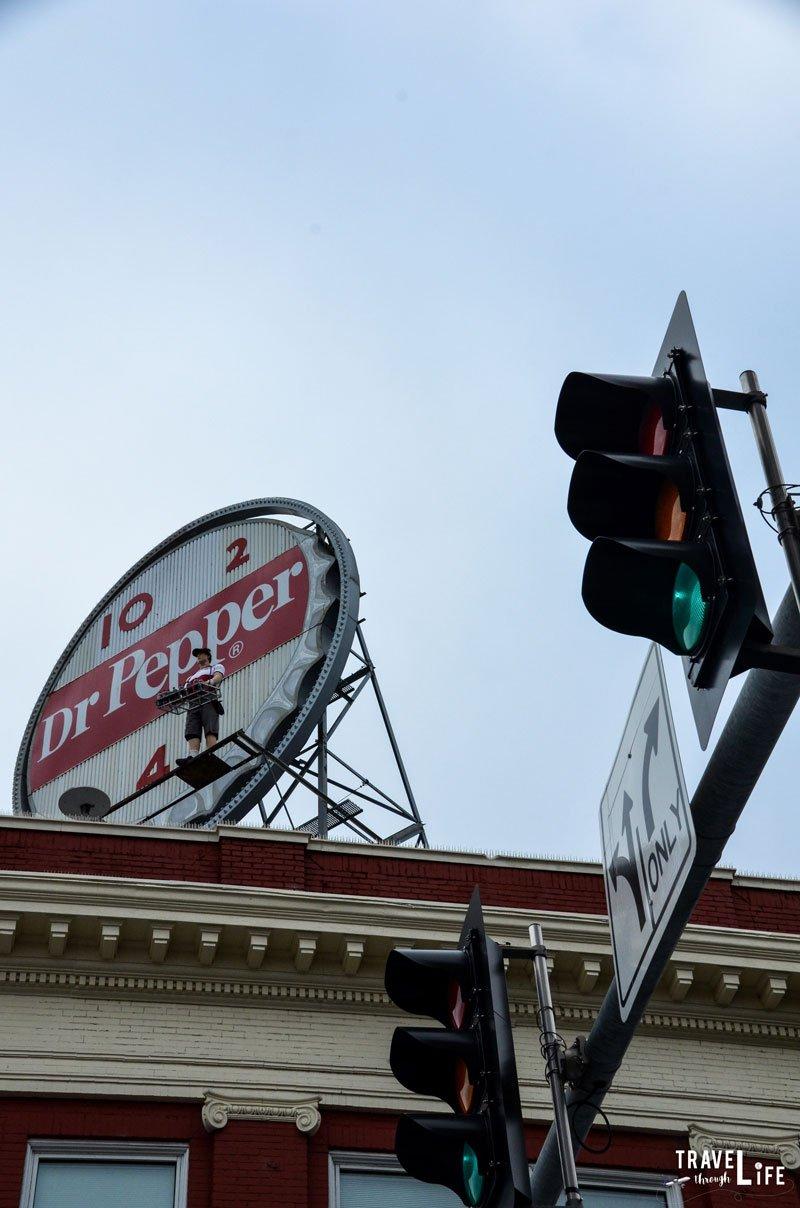Roanoke Va Dr Pepper Clock