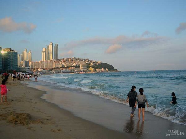 South Korea Road Trip Travel Guide Haeundae Beach in Busan Image