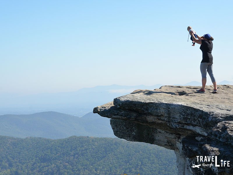 Things to do near Roanoke Va McAfee Knob Hike