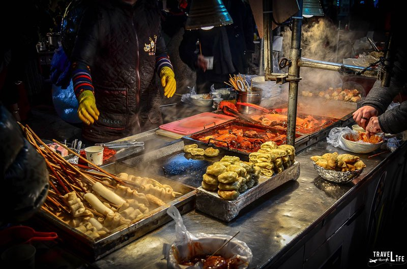 What to eat in Nampo Dong Busan