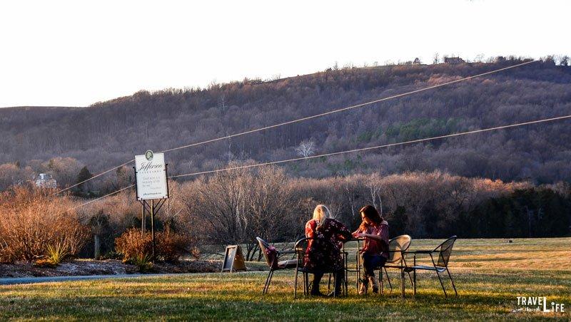 Charlottesville Virginia Wineries Jefferson Vineyards