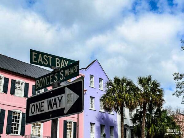Charleston South Carolina Rainbow Row Image