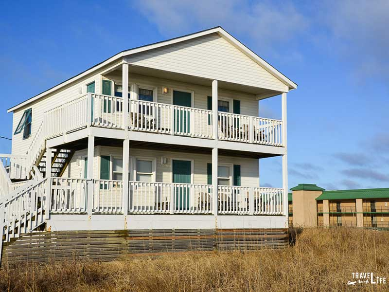 Outer Banks hotels on the beach Wright Cottage Court