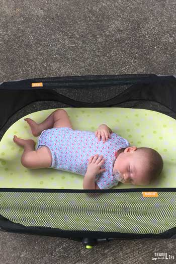 Baby Travel Packing List for Infants Travel Bassinet