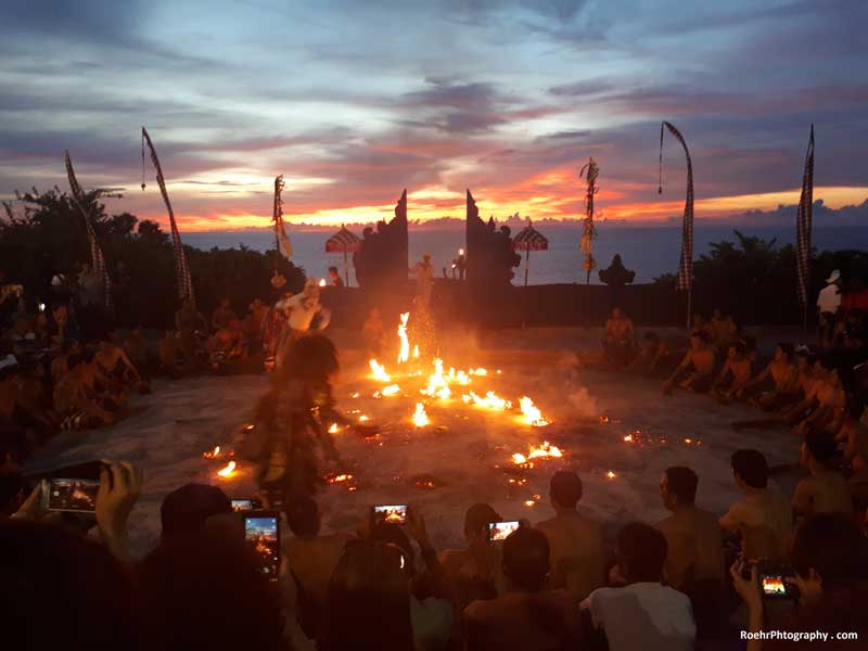 Bali Must See Uluwatu Kecak Fire Dance Ceremony