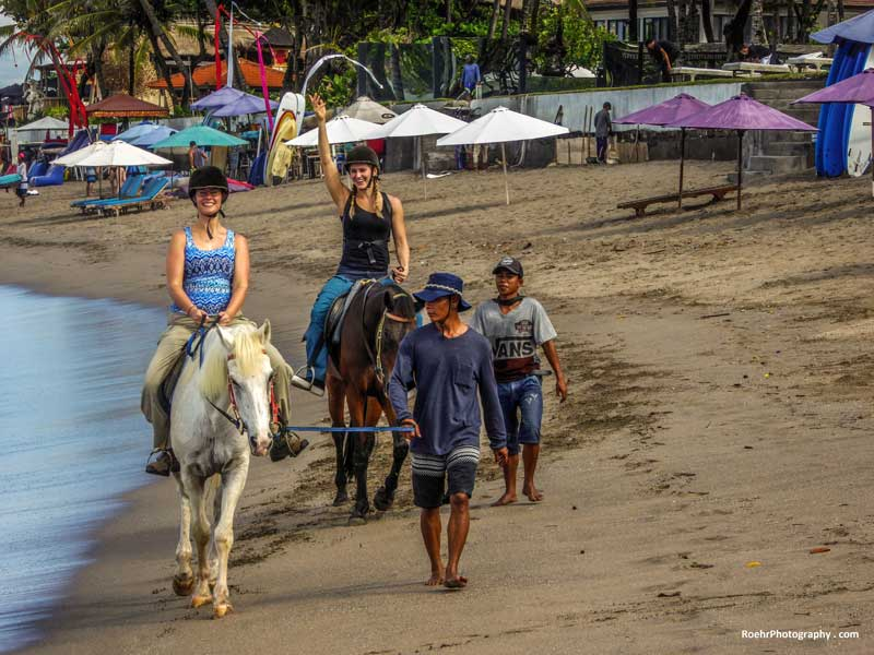 Bali Tourist Attractions Canggu Equestrian Centre