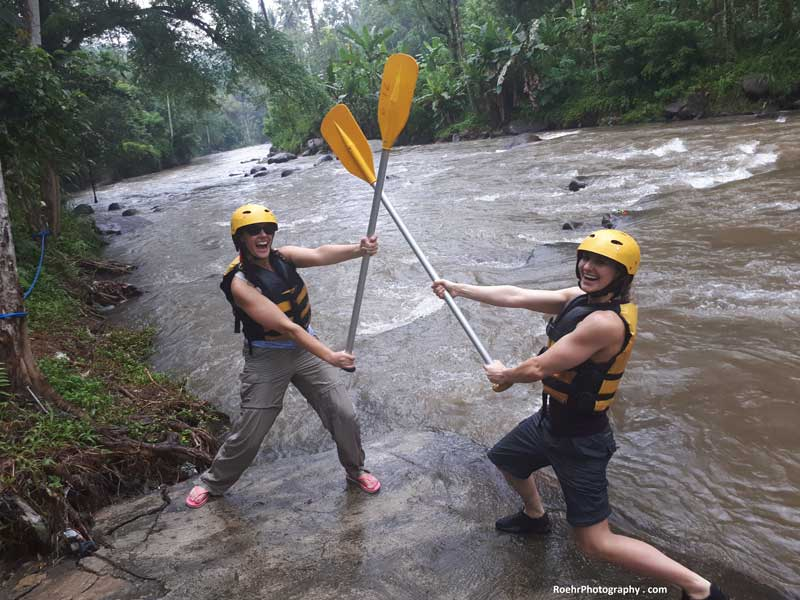 Bali Travel Guide Ayung River Whitewater rafting