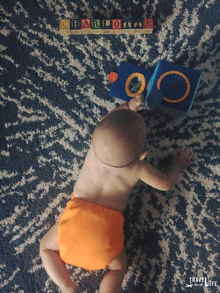 Holiday Packing List for Baby Cloth Diapers