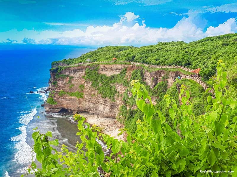 Places to See in Bali Cliffs of Uluwatu