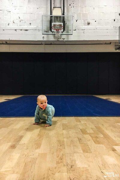 The Cardinal Hotel Basketball Court