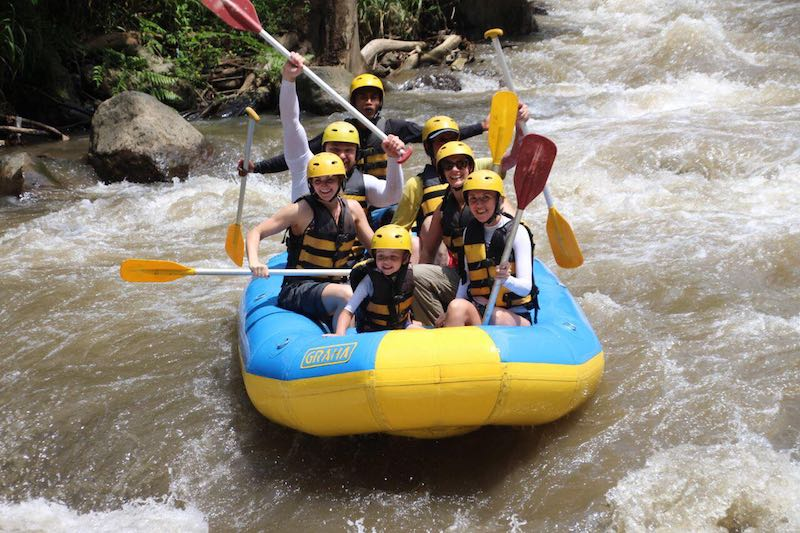 Things to Do in Bali Indonesia Whitewater Rafting Ayung River