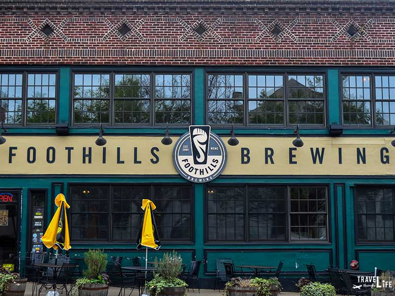 Things to do in Winston-Salem NC Foothills Brewing