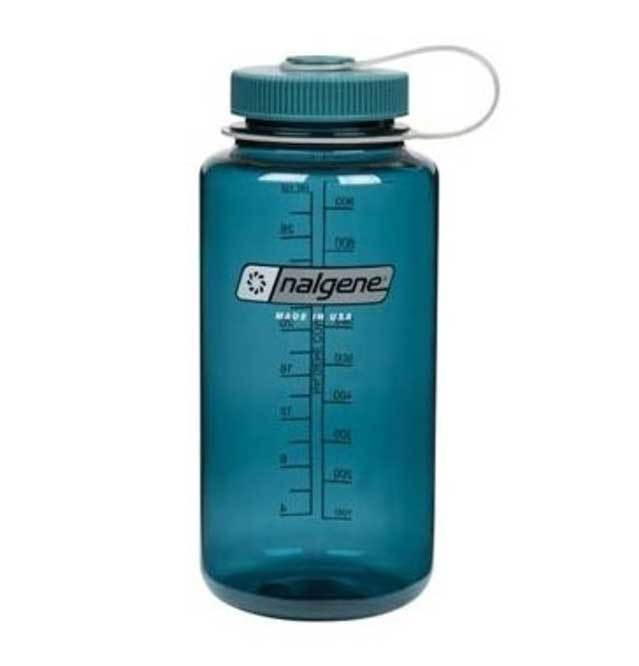 Vacation Packing List Nalgene Water Bottle