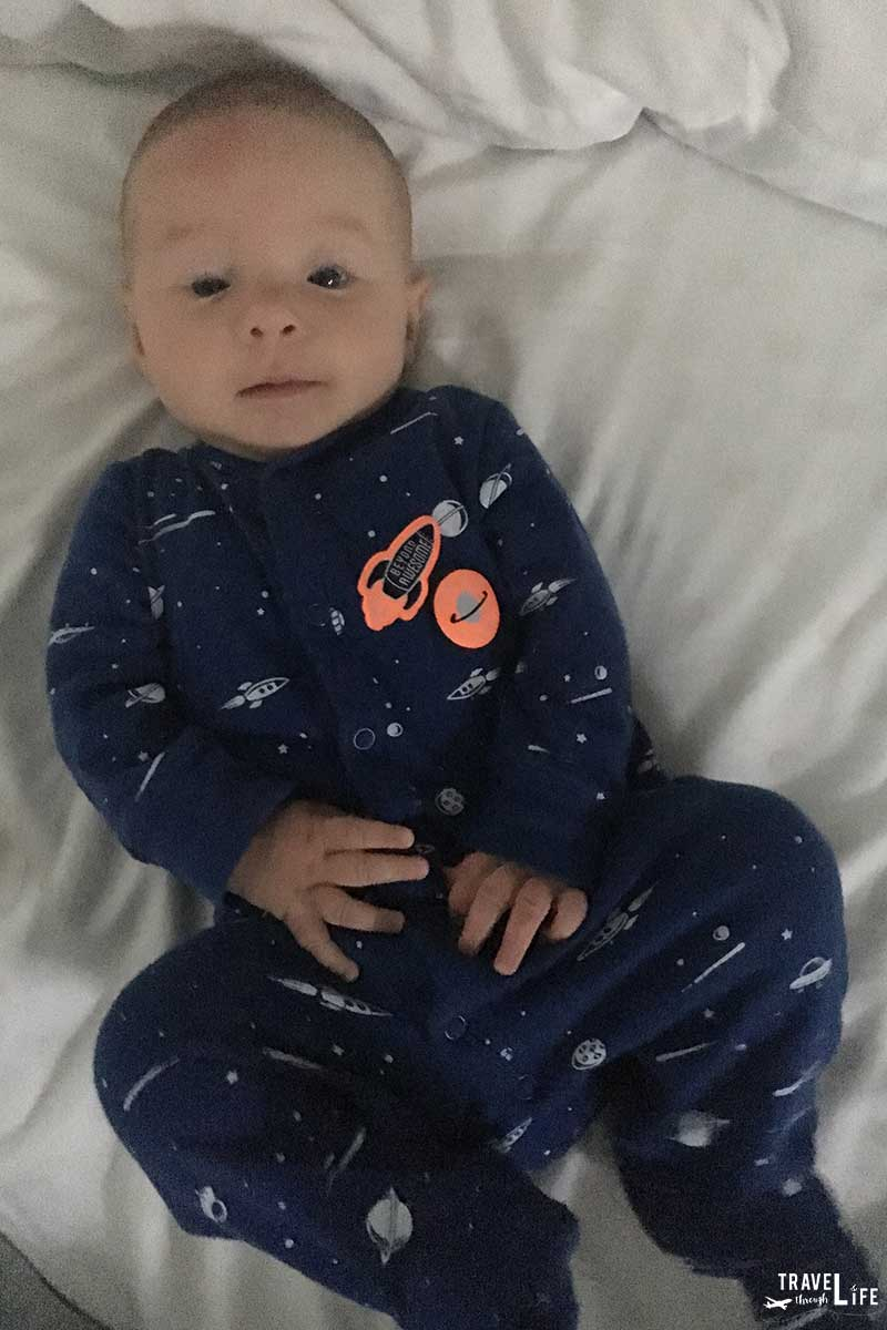 Vacation Packing List for Infants Pajamas