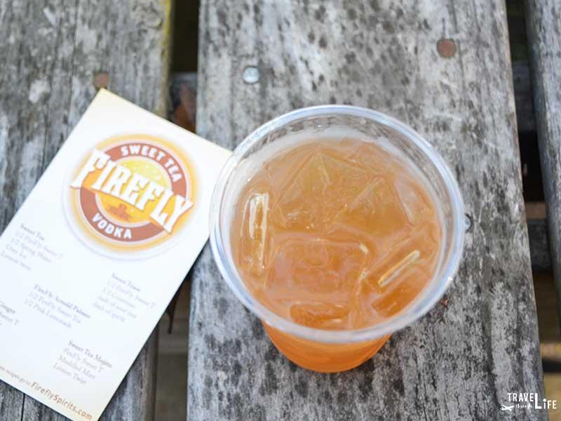 Charleston restaurants Firefly Distillery Wadmalaw Island