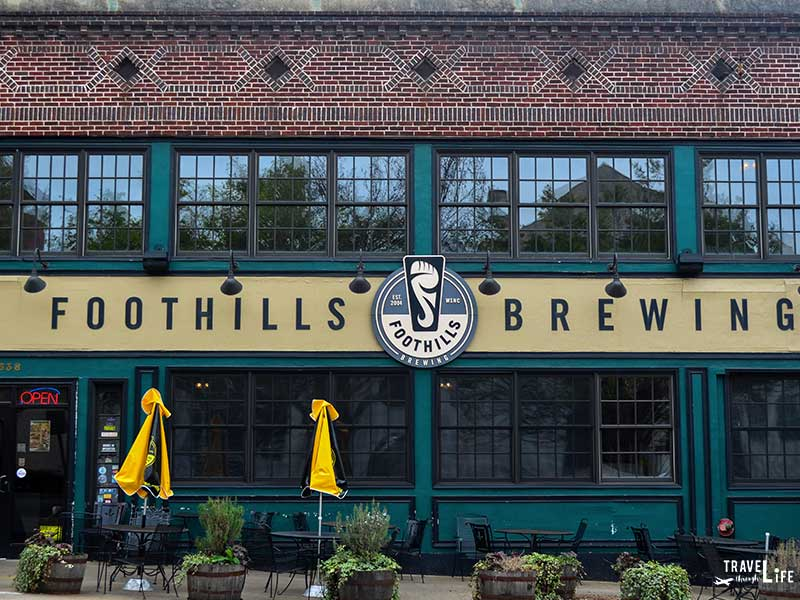North Carolina Breweries Foothills Brewery