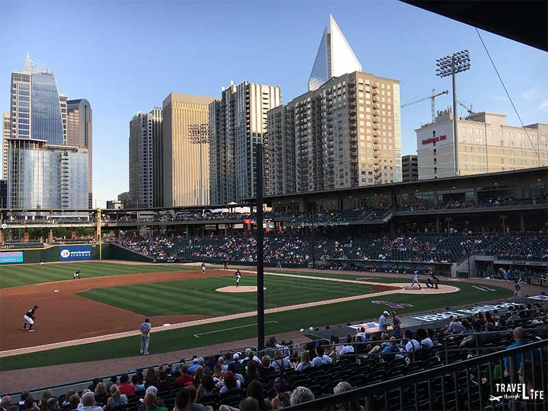 Charlotte NC Attractions Charlotte Knights BB&T Ballpark