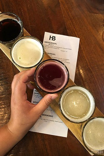 Charlotte NC Attractions NoDa Heist Brewery Image