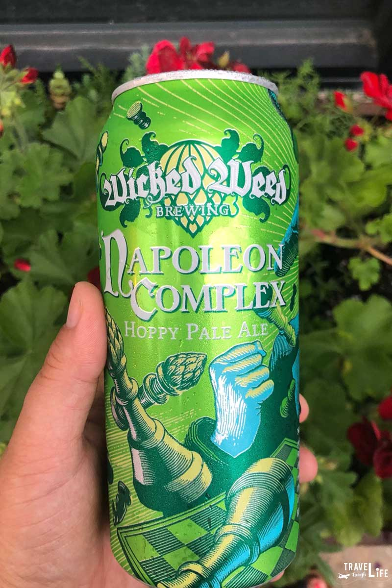 Downtown Asheville NC Wicked Weed