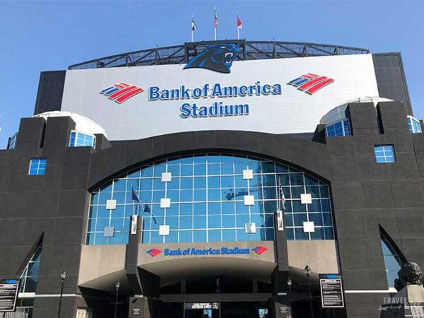 Things to do in Charlotte NC Bank of America Stadium Carolina Panthers Image