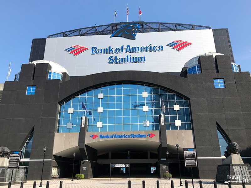 Things to do in Charlotte NC Bank of America Stadium Carolina Panthers
