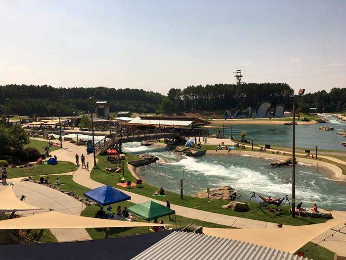 What to do in Charlotte NC US National Whitewater Center Photo by Charles McCool of McCool Travel