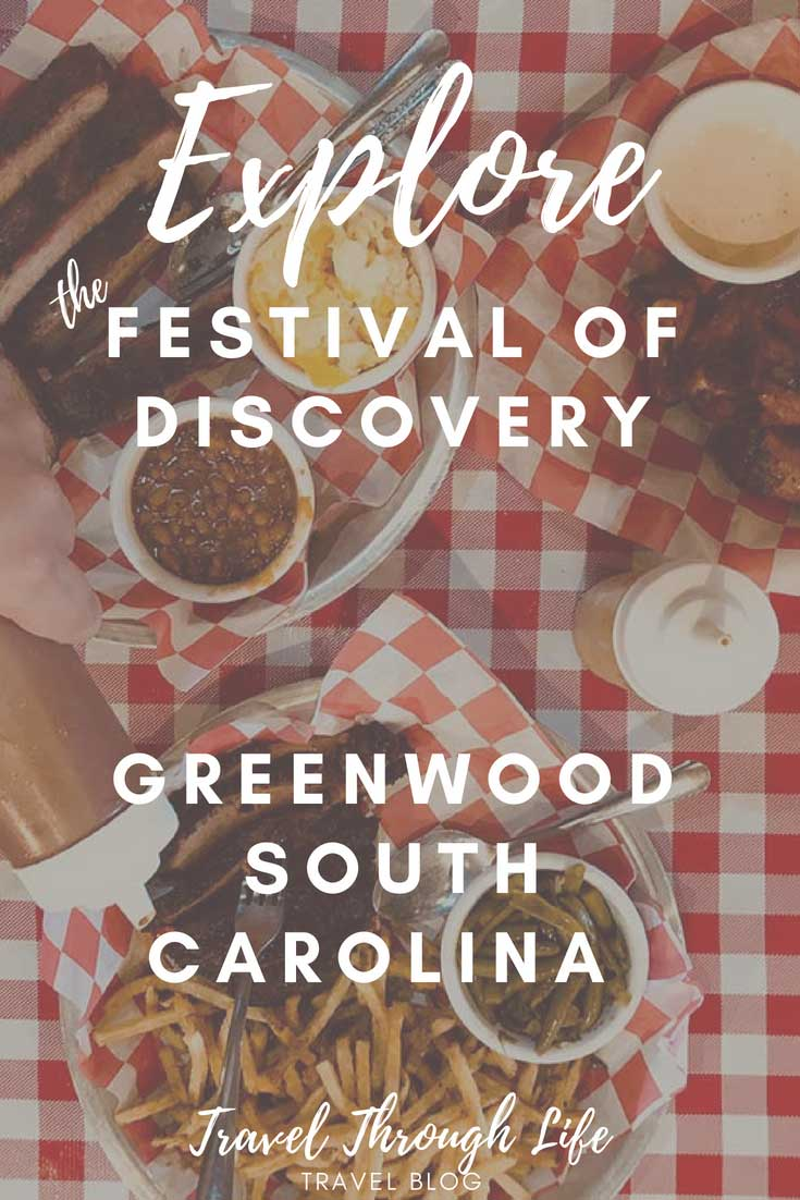 Pinnable Image of Festival of Discovery in Greenwood South Carolina