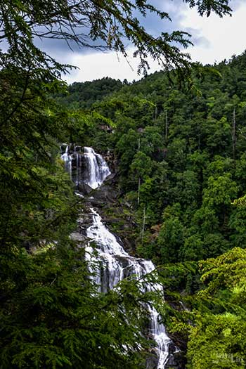 Jackson County NC Upper Whitewater Falls Image