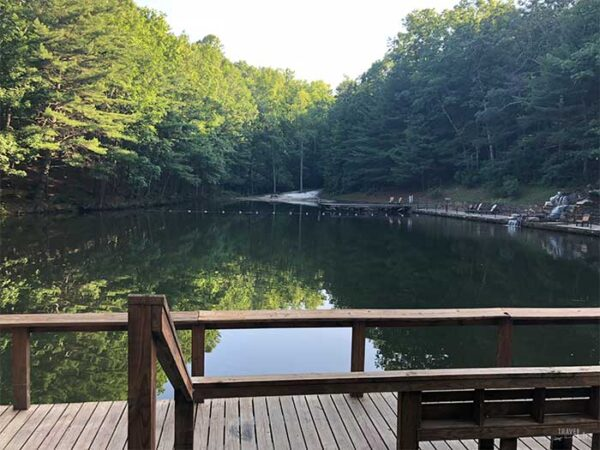 Mountain Getaways in NC Bear Den Family Campground Spruce Pine Image