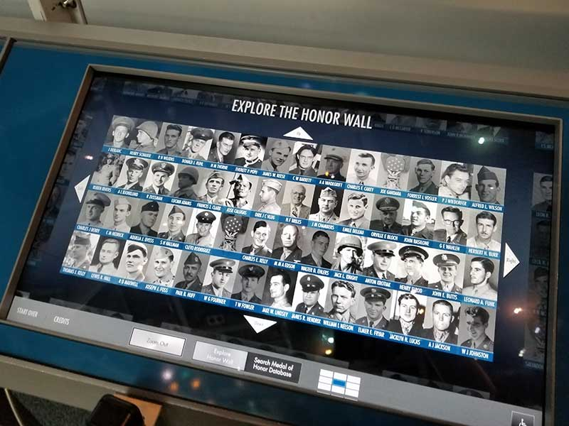 New Orleans WWII Museum Honor Wall Photo by Clayton Hensley