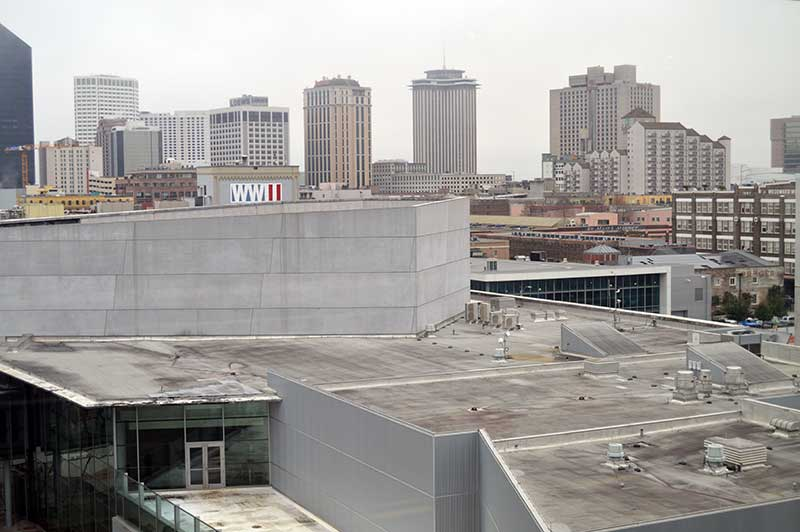 The National WWII Museum From the US Freedom Pavilion Photo by Clayton Hensley