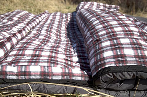 Travel List Camping Double Sleeping Bag by Teton