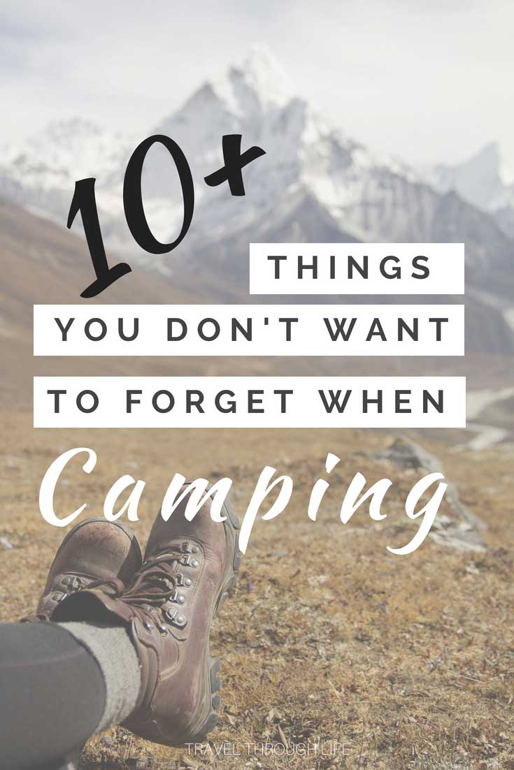 What to bring camping and how we make it work