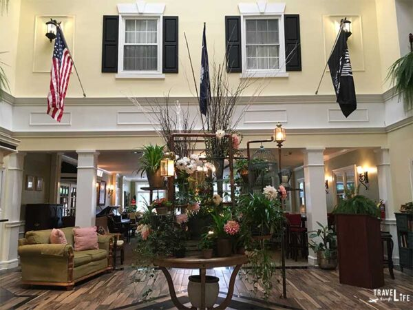 Greenwood SC Inn on the Square Lobby