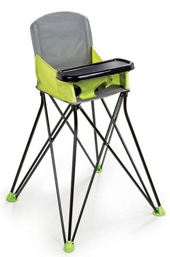 Things to Pack for a Trip with an Older Baby Portable Highchair Image via Amazon