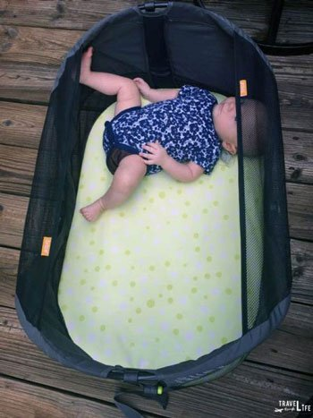 Tips for traveling with a baby Travel Bassinet