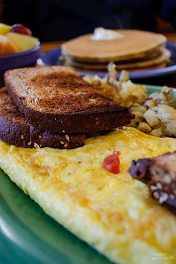 Outer Banks Restaurants Stack em High Pancakes and So Forth Image
