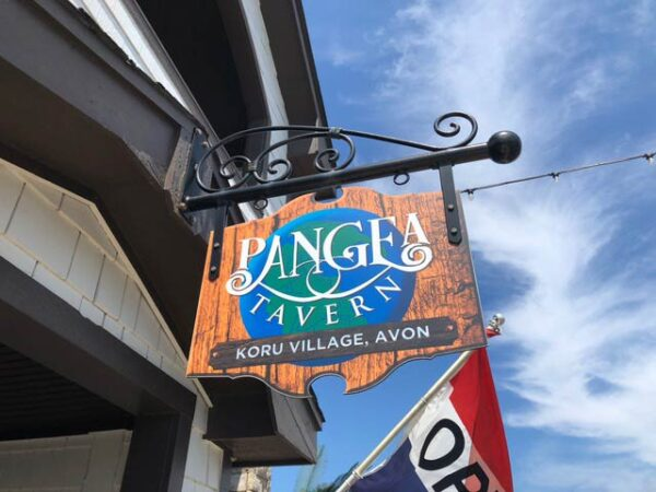 Restaurants in Outer Banks NC Avon Pangea Tavern Photo by Lisa Chavis