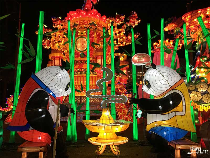 Winter Things to Do in North Carolina Chinese Lantern Festival in Cary