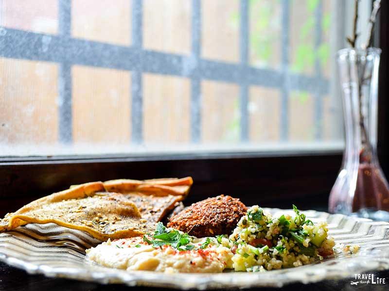 Restaurants in Greensboro NC Jerusalem Market on Elm