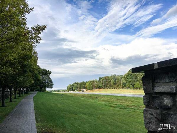 The runway at Nemacolin Pa Pennsylvania Resorts and Spas