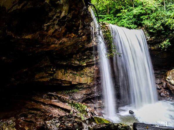 Ohiopyle State Park Cucumber Falls Pa