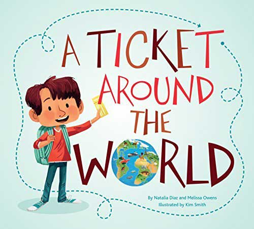 Children's Books A Ticket Around the World via Amazon