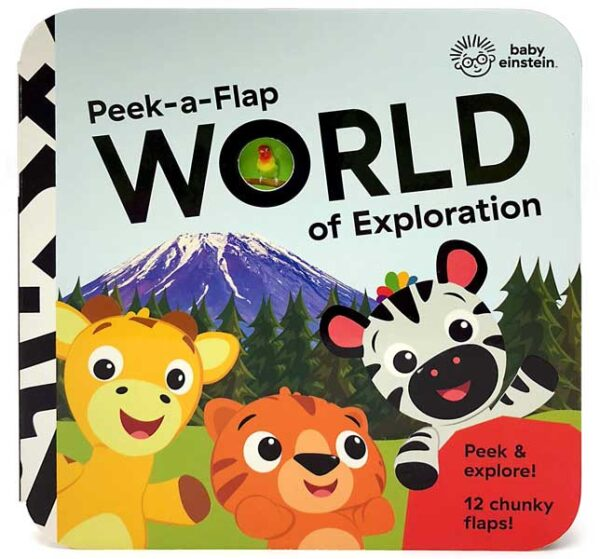 Children's Books Best Travel Books Baby Einstein World of Exploration Image via Amazon