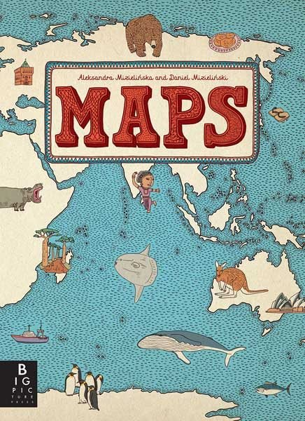Children's Books Maps Image via Amazon