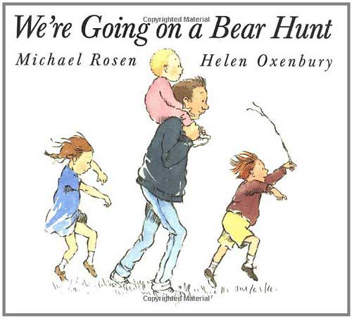 Children's Books We're Going on a Bear Hunt Image via Amazon