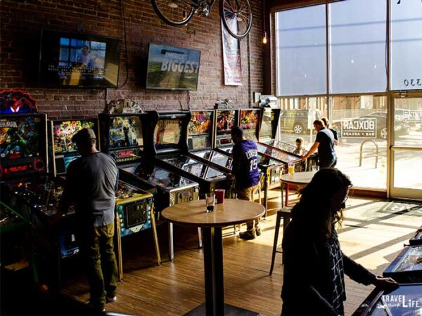 Day Date Things to Do in Raleigh NC Boxcar Bar Arcade
